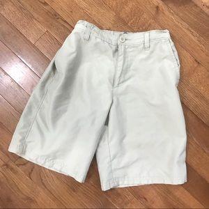 Boys Champion Khaki Golf Shorts 8-10